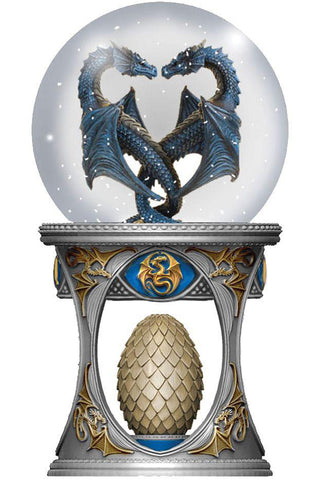 Anne Stokes Dragon Heart Snow Globe | Angel Clothing
