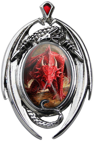 Anne Stokes Dragons Lair Necklace | Angel Clothing