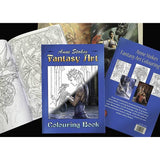 Anne Stokes Fantasy Art Colouring Book, Gothic Colouring Book | Angel Clothing