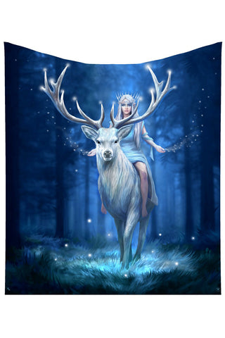 PRE-ORDER Anne Stokes Fantasy Forest Throw | Angel Clothing