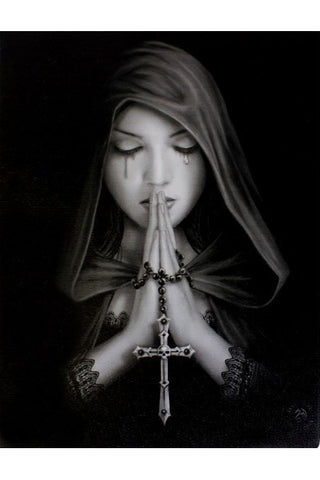 Anne Stokes Gothic Prayer Picture | Angel Clothing