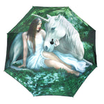 Anne Stokes Pure Heart Unicorn Umbrella | Angel Clothing