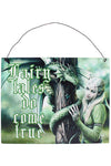 Anne Stokes Kindred Spirit Metal Sign | Angel Clothing