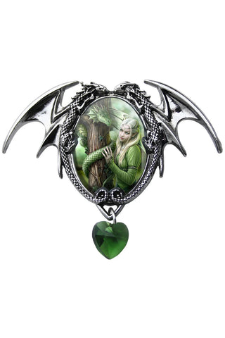 Anne Stokes Kindred Spirits Pendant | Angel Clothing
