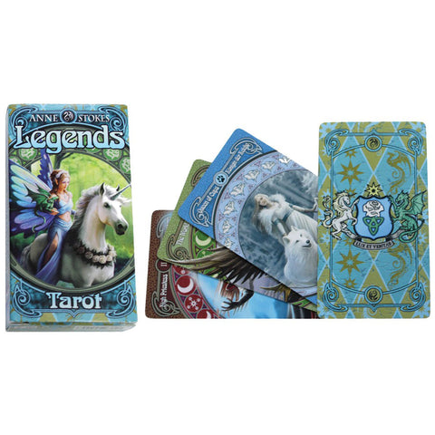 Anne Stokes Legends Tarot Cards | Angel Clothing