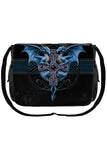 Anne Stokes Messenger Bag, Dragon Duo Blue/Black | Angel Clothing