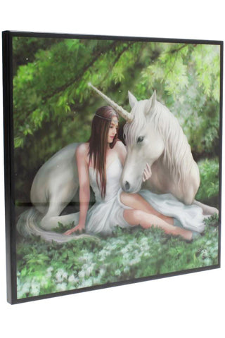 Anne Stokes Pure Heart Crystal Clear Picture | Angel Clothing