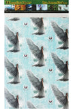 Anne Stokes Spirit Guide Angel Wrapping Paper, Gothic Gift Wrap 42cm x 59cm | Angel Clothing