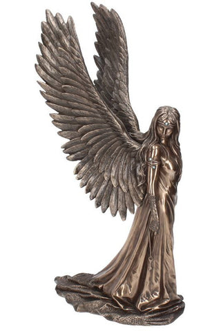 Anne Stokes Spirit Guide Bronze 43cm | Angel Clothing
