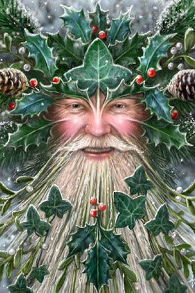 Anne Stokes Spirit of Yule Christmas Card | Angel Clothing