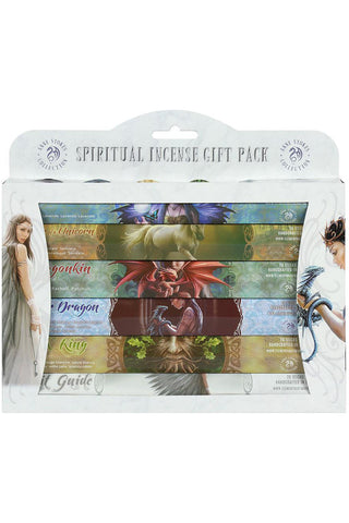 Anne Stokes Spiritual Incense Stick Gift Pack | Angel Clothing