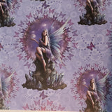 Anne Stokes Stargazer Fairy Wrapping Paper, Gothic Gift Wrap 42cm x 59cm | Angel Clothing