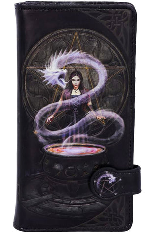 PRE-ORDER Anne Stokes The Summoning Embossed Purse | Angel Clothing
