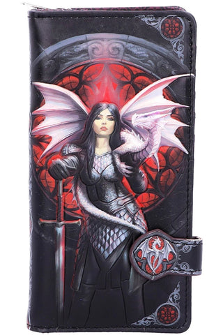 Anne Stokes Valour Embossed Purse | Angel Clothing