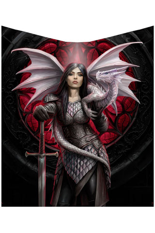 Anne Stokes Valour Throw | Angel Clothing