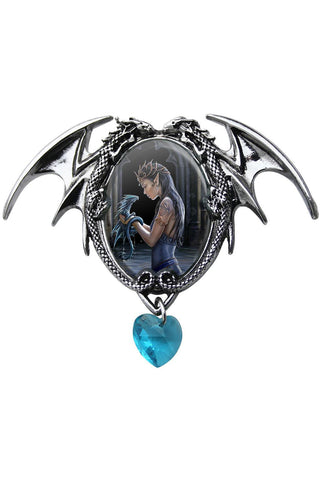 Anne Stokes Water Dragon Pendant | Angel Clothing