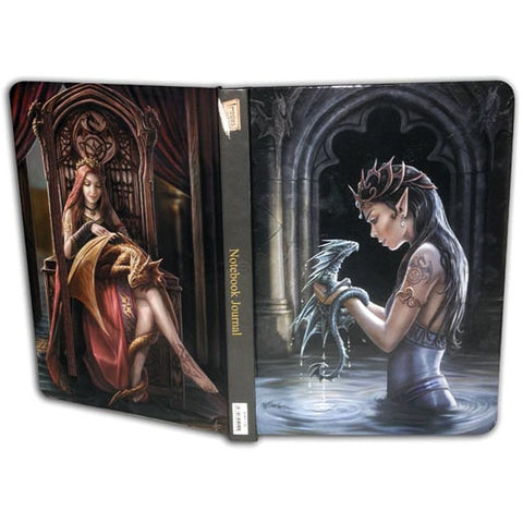 Anne Stokes Water Dragon Notebook Journal, A5 Gothic Notebook | Angel Clothing