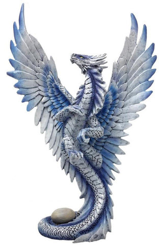 Anne Stokes Silver Wind Dragon | Angel Clothing