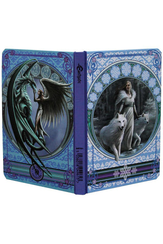 Anne Stokes Winter Guardian Notebook | Angel Clothing