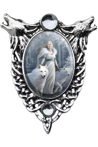 Anne Stokes Winter Guardians Necklace | Angel Clothing