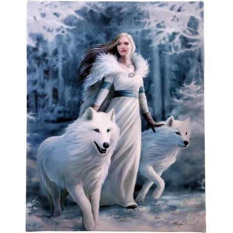 Anne Stokes - Winter Guardians Picture 19cm x 25cm - Angel Clothing
