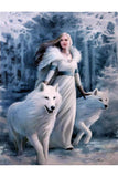 Anne Stokes Winter Guardians Picture | Angel Clothing