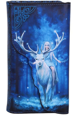 PRE-ORDER Anne Stokes Fantasy Forest Embossed Purse | Angel Clothing