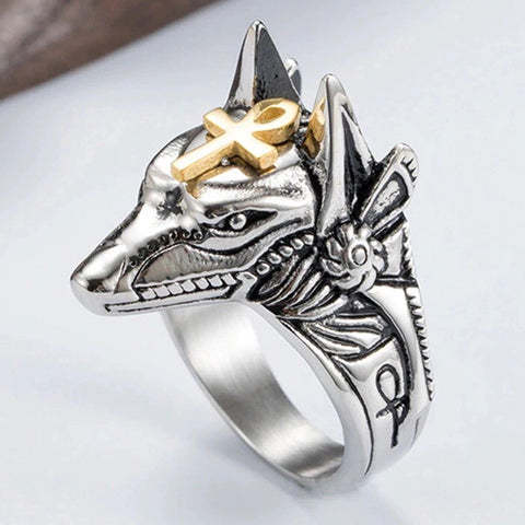 Anubis Ring | Angel Clothing