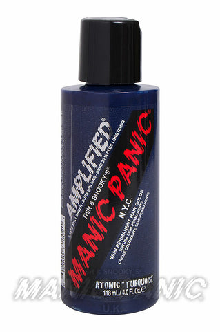Manic Panic Amplified Hair Colour 118ml Atomic Turquoise | Angel Clothing