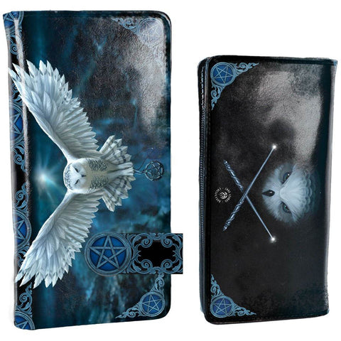Awaken Your Magic Embossed Purse by Anne Stokes 18.5cm - Angel Clothing