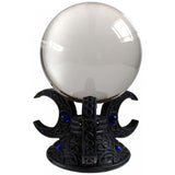 Triple Moon Crystal Ball Holder 10cm Luna Lakota | Angel Clothing