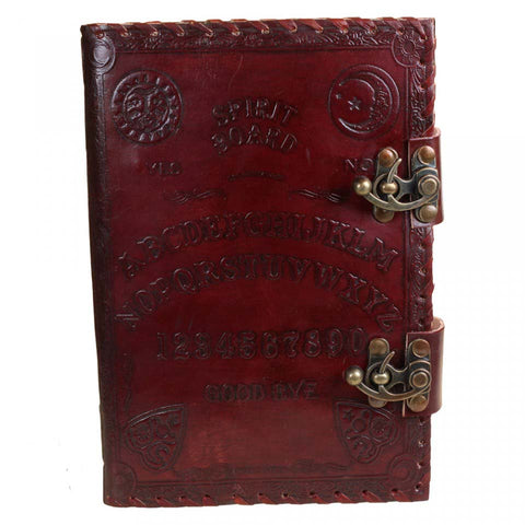 Spirit Board Leather Embossed Journal 25cm | Angel Clothing