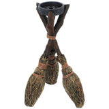 Broomstick Tea Light Holder 20.5cm | Angel Clothing