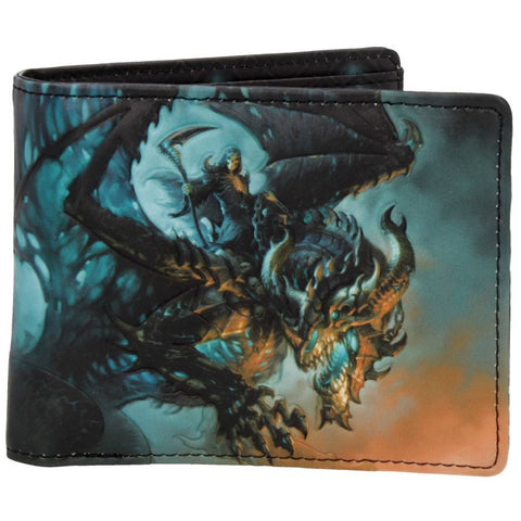 Wings of Death Wallet by James Ryman | Angel Clothing