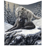 Lisa Parker Snow Kisses Throw 160cm | Angel Clothing