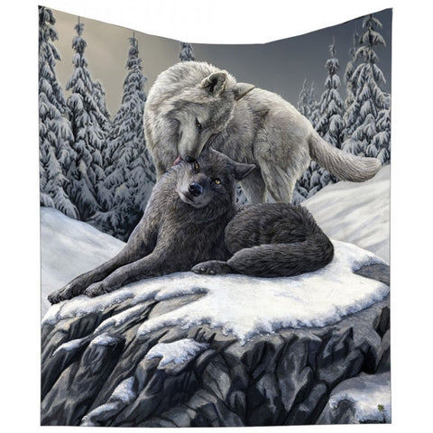 Snow Kisses Throw by Lisa Parker 160cm | Angel Clothing
