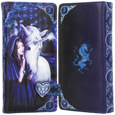 Solace Embossed Purse by Anne Stokes 18.5cm | Angel Clothing