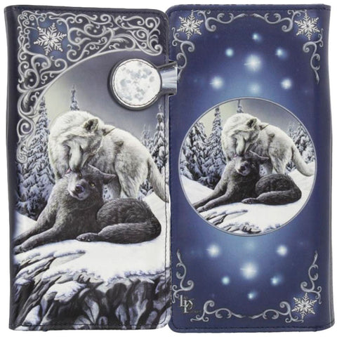 Lisa Parker Snow Kisses Embossed Purse 18.5cm | Angel Clothing