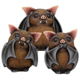 Three Wise Bats 8.5cm | Angel Clothing