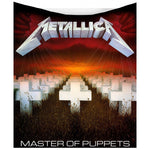 Metallica Master of Puppets Throw | Angel Clothing