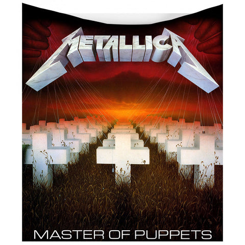 Metallica Master of Puppets Throw 160cm | Angel Clothing