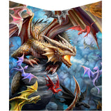 Anne Stokes Dragon Clan Throw | Angel Clothing
