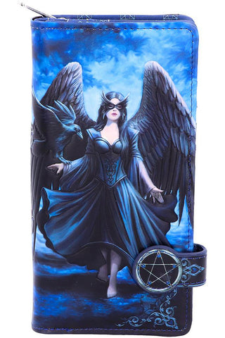 Anne Stokes Raven Embossed Purse | Angel Clothing