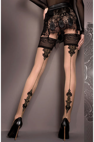 Ballerina 419 Hold Ups Stockings | Angel Clothing