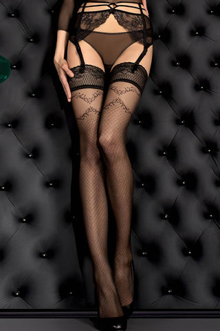 Ballerina Hold Ups Black - 390 | Angel Clothing