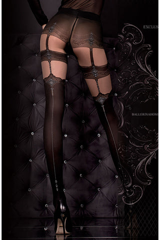 Hush Hush By Ballerina Tights - 300 | Angel Clothing