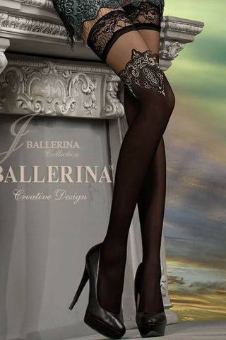 Ballerina 221 Hold Ups Stockings Semi Opaque | Angel Clothing