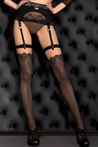 Ballerina Stockings Black - 388 | Angel Clothing