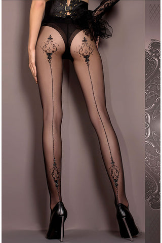 Ballerina Tights Black - 410 | Angel Clothing