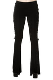 Banned Dead Disco Flared Trousers | Angel Clothing